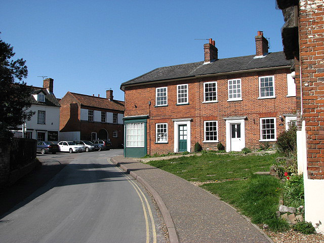 Church Hill Cottage and the Post Office