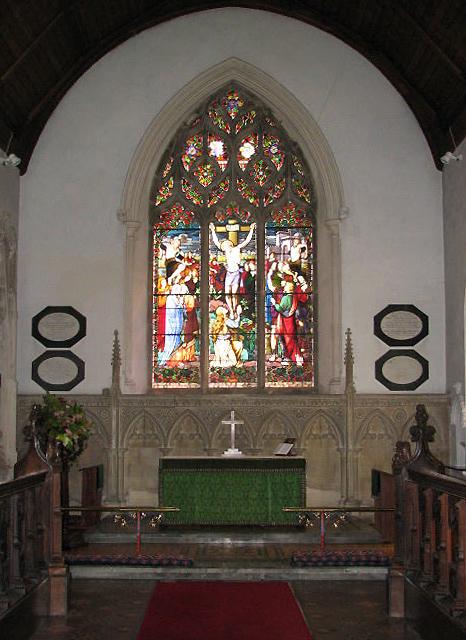 St Mary's church - chancel