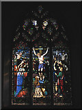 TG1022 : St Mary's church - east window by Evelyn Simak