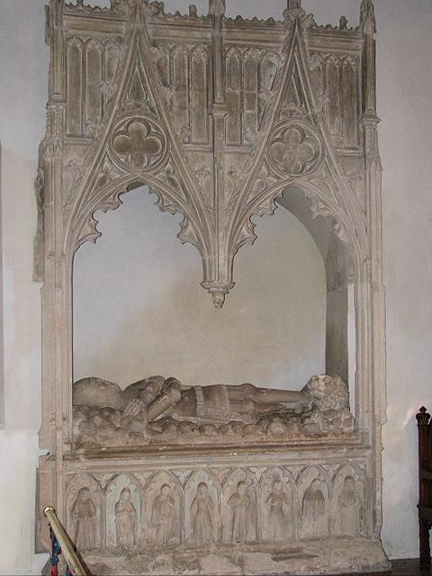 St Mary's church - Kerdiston tomb