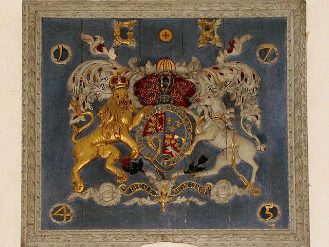 St Mary's church - royal arms