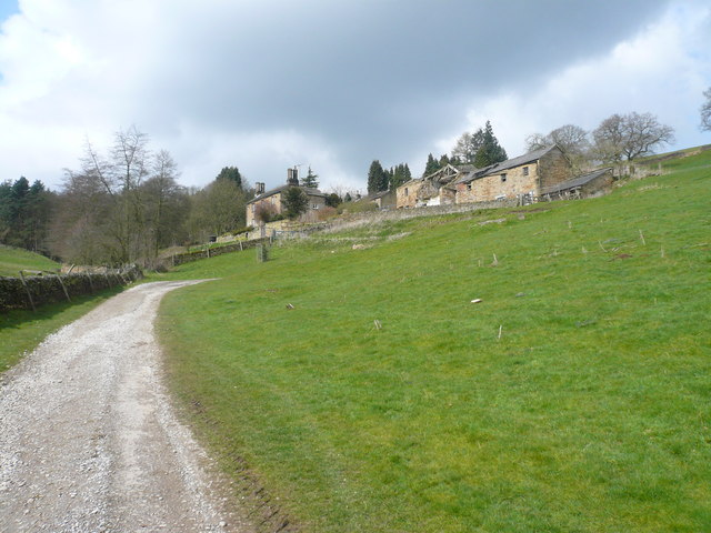 Chatsworth Park - Calton Houses and Barn View