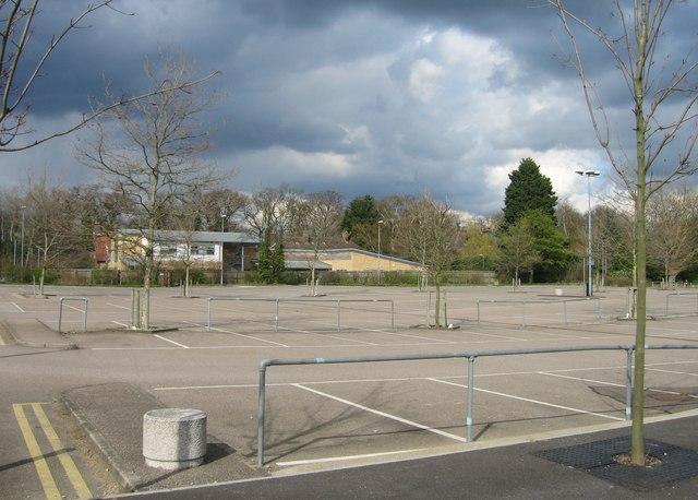 Empty car park 'S' by Sandy B
