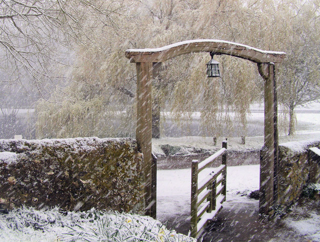 The Tapsel Gate, Friston Church, East Sussex