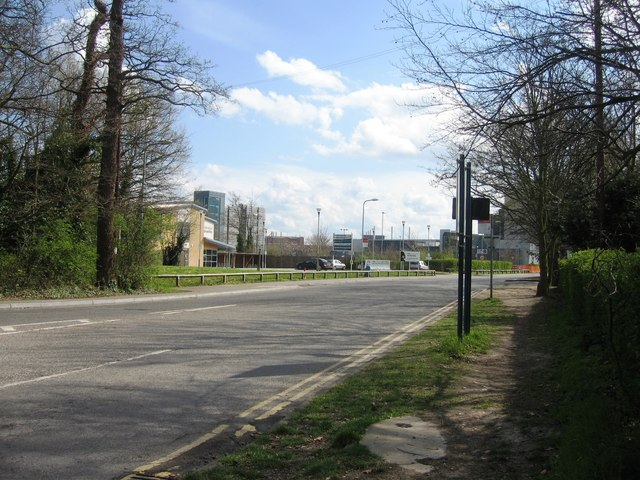 Robinson Way & the Addenbrooke's site by Sandy B