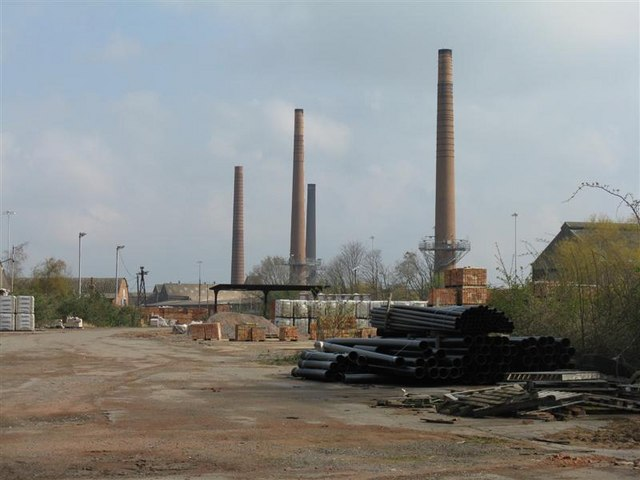 Stewartby Brickworks Now Closed 169 M J Richardson Cc By
