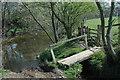 SO4285 : Footbridge & stile on the Onny Trail by Row17