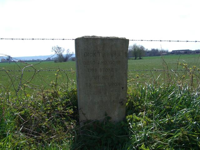 Dick Turpin's memorial