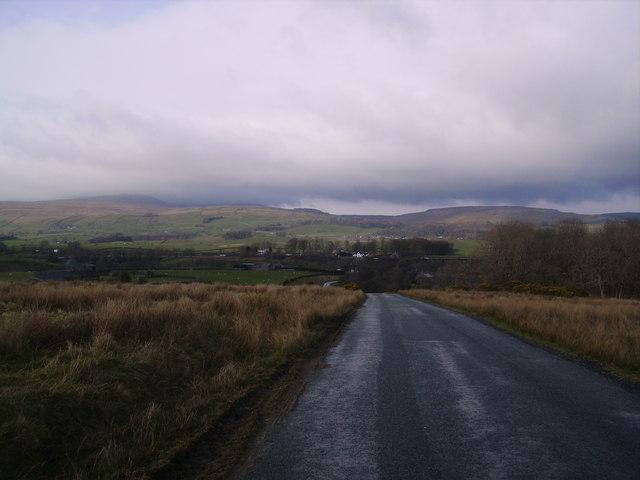 Road at Keasden