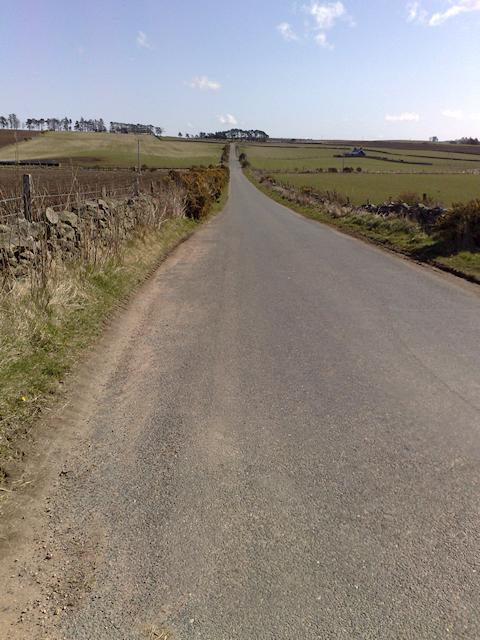 Road near Craigharr