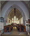 SE9428 : Elloughton Church - Interior by David Wright