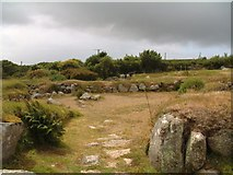 SW4028 : Carn Euny, site of an Iron Age village by Jeff Tomlinson