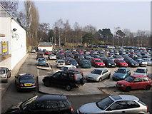 SP0583 : South Car park by Shaun Ferguson