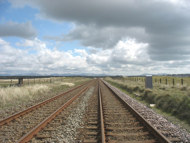 Railway south of Trewin Sands crossing