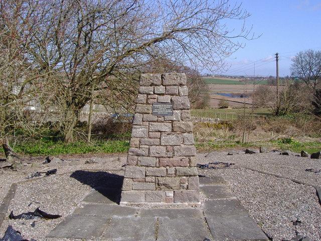 Battle of Dunnichen Hill memorial cairn