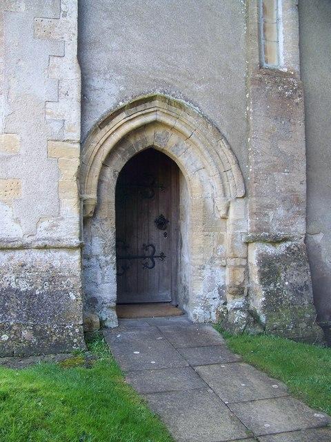 Doorway, St James the Great, West Hanney