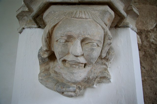 750 year-old grin