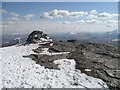 NN3237 : The south summit, Beinn Dòrain by Richard Webb