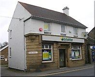 SE1527 : Yorkshire Building Society - Towngate, Wyke by Betty Longbottom