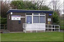 SE1527 : Wyke Police Contact Point - Huddersfield Road by Betty Longbottom