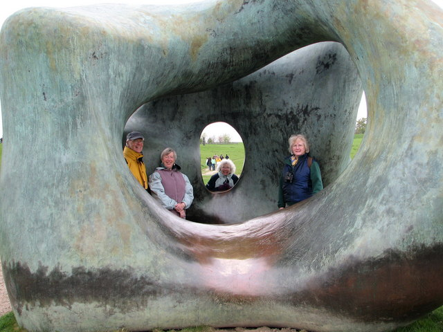 Yorkshire Sculpture Park - accessible Henry Moore