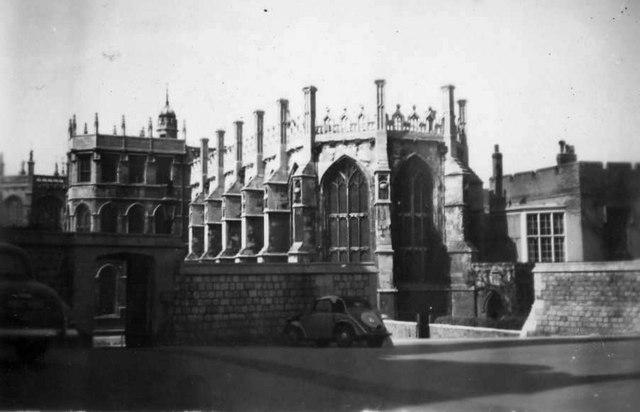 St George's Chapel, Windsor Castle, 1953