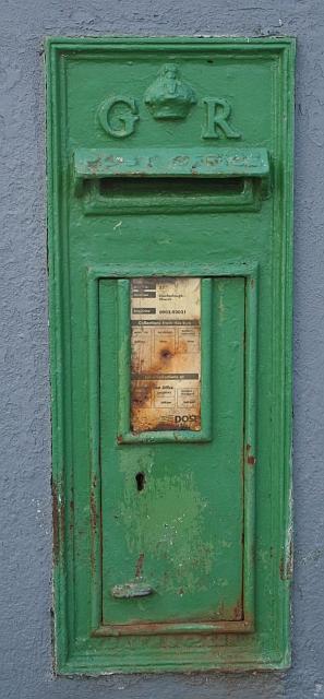 GR Post Box Clonfanlough Church