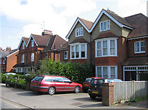 SU6351 : Large homes in Cliddesden Road by Sandy B