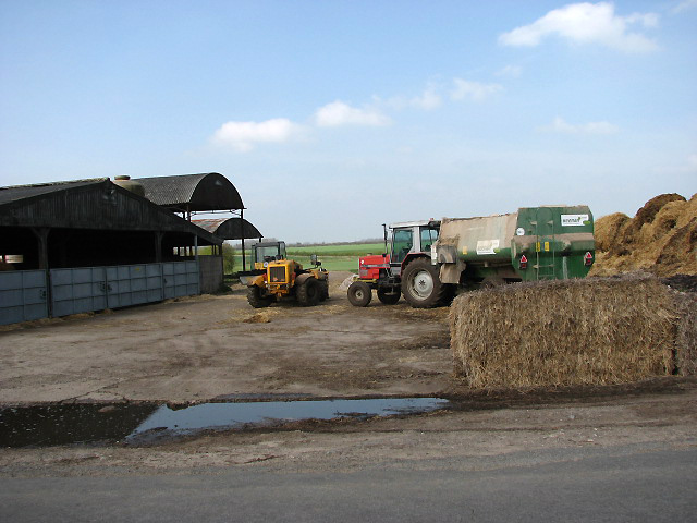 Sheds and Machinery at Fiddes Farm