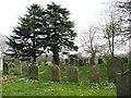 TG0704 : St Peter's church - churchyard by Evelyn Simak