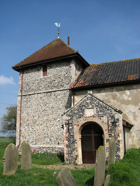St Peter's church - porch and tower