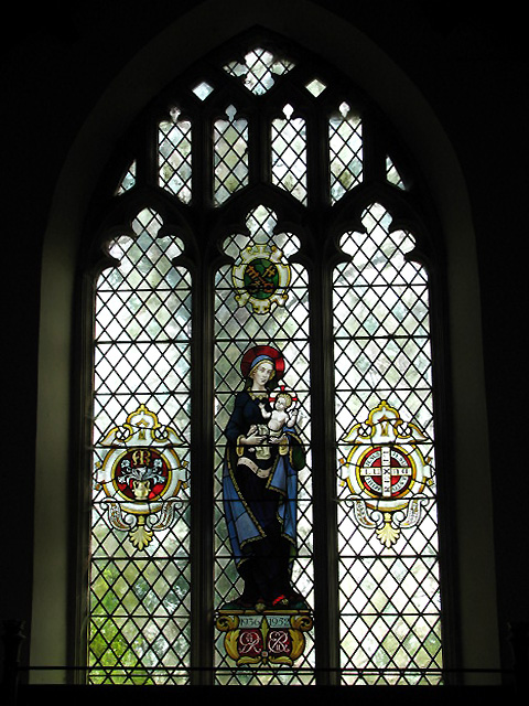 St Peter's church - east window