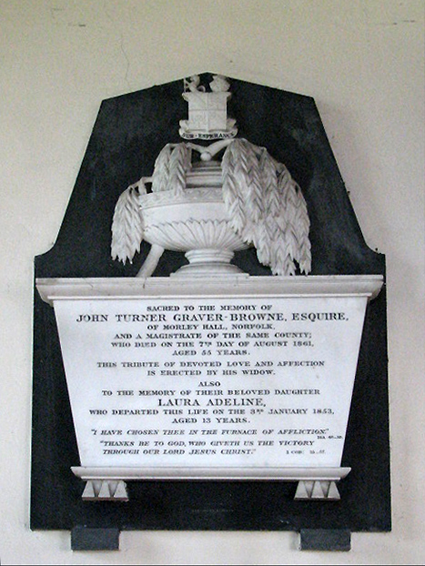 St Peter's church- monument