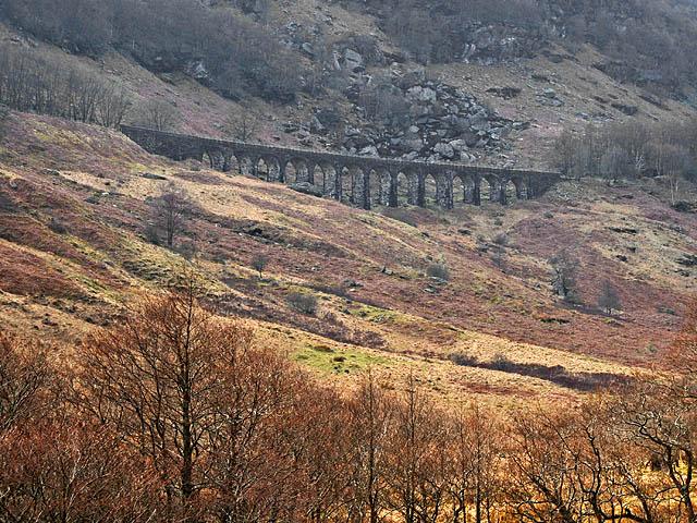 The Glen Ogle Viaduct