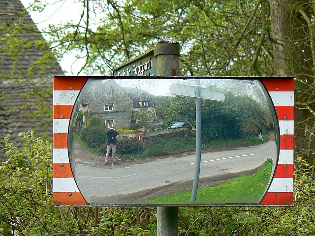 Driving mirror, Wortley