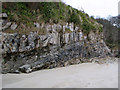 C0637 : Rock strata, Marble Hill Strand by Rossographer