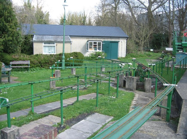 Miniature railway - Viables Craft Centre
