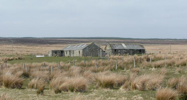 Stone barns at Westerdale
