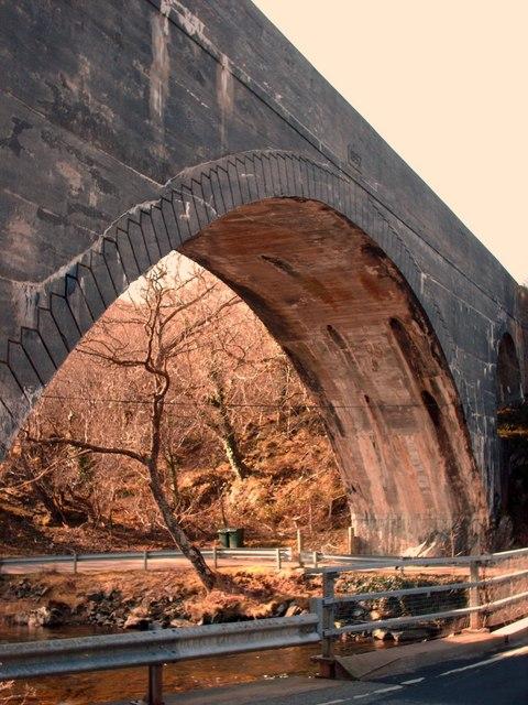 Arch Of Morar Viaduct