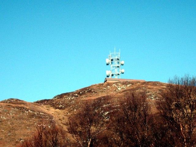 On Bourblach Hill