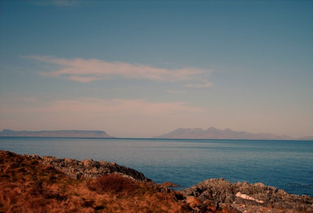 View From Glasnacardoch Bay