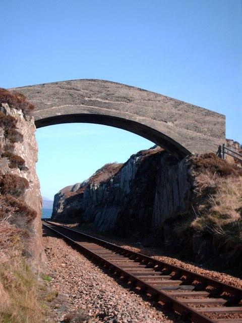 Little Bridge Outside Mallaig