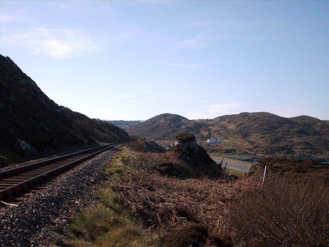 Towards Glasnacardoch