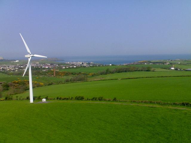 Rhyd Y Groes Wind Farm and Cemaes Bay