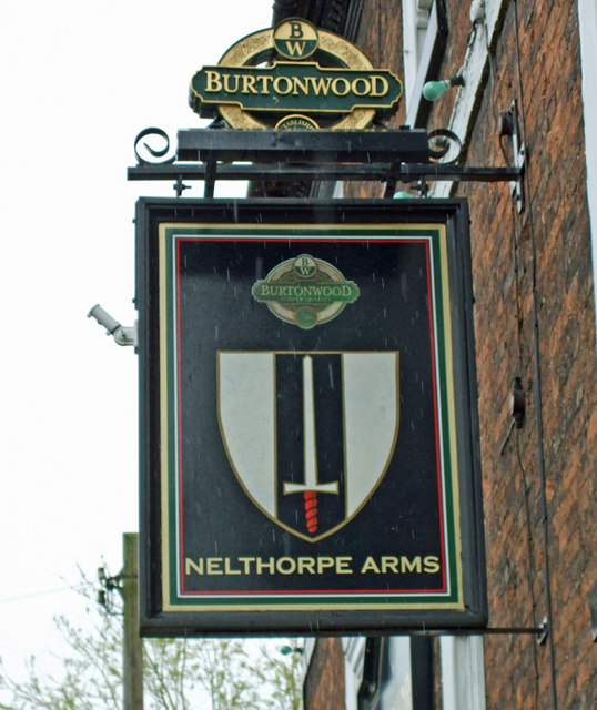 The Sign of the Nelthorpe Arms