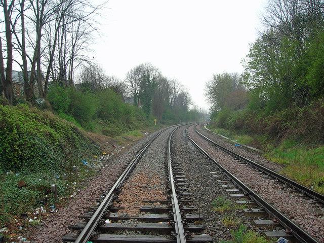 The Railway towards Great Coates