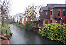 TA2609 : River Freshney by David Wright