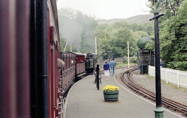 Tan Y Bwlch Station