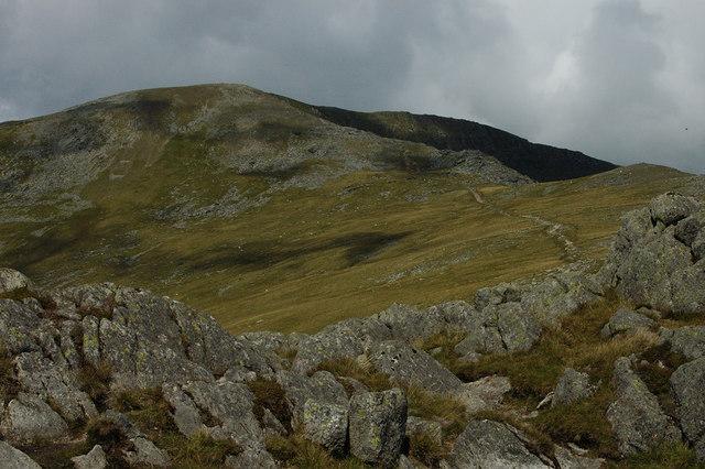 The path from Craig yr Ysfa