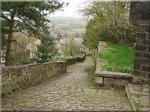 SJ9995 : Footpath from Mottram Parish Church to Church Brow by Bill Henderson